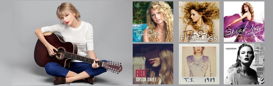 Taylor Swift's Album Cover Designs