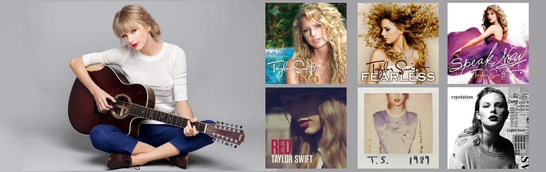 Taylor Swift's Album Cover Designs