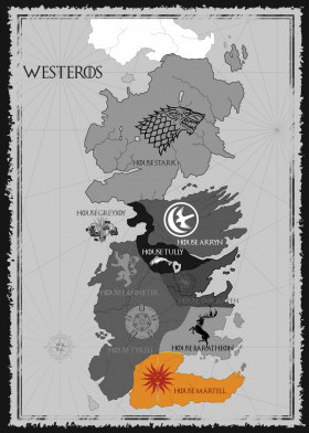 House Martell Map