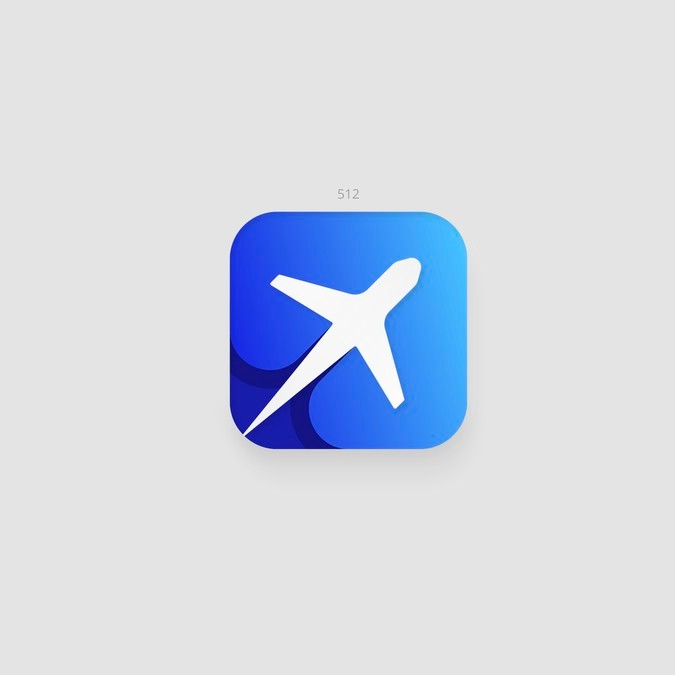 Travel Time New App Icon Design