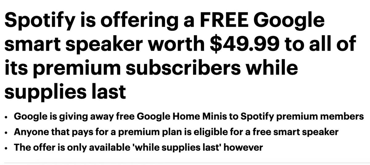 Clickbait example headline