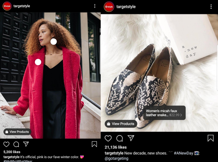 TargetStyle Instagram ad
