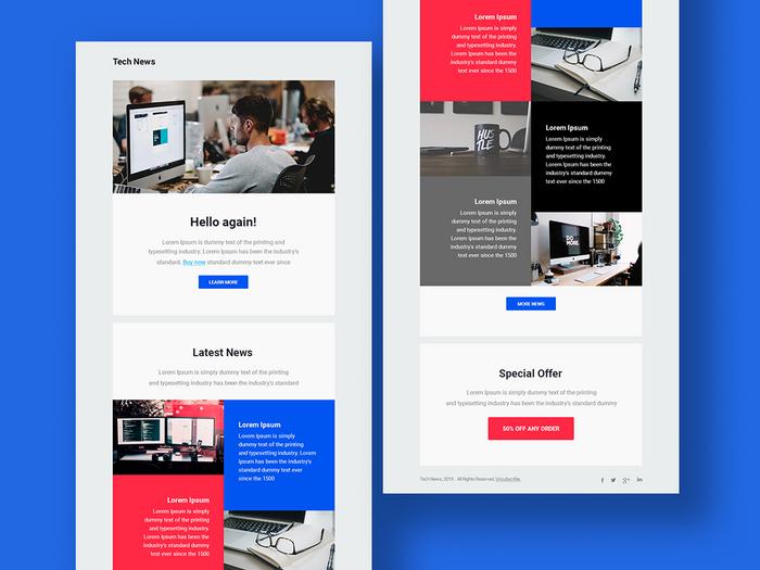 Newsletter & Blog Post Design