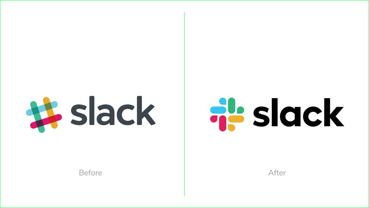Slack new logo 2019 rebrand