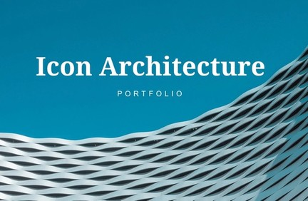 Icon Architecture Powerpoint Design