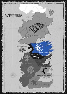 House Arryn Map