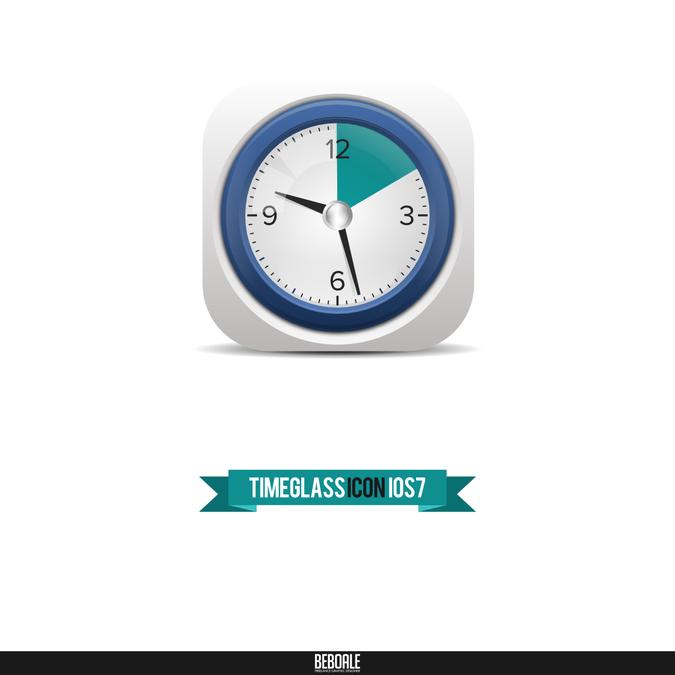 Timeglass New App Icon Design