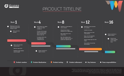 Product Timeline Infographic