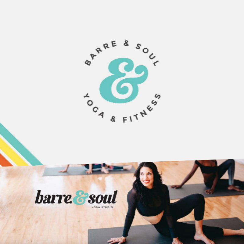 Barre n Soul brand identity
