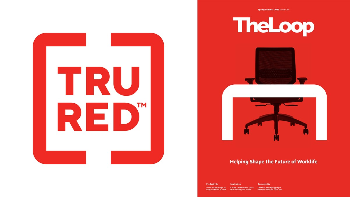 Tru Red Staples Brand and new catalog design