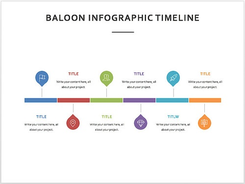 15 best timeline templates free editable custom designs colorful minimalist and with a modern feel this powerpoint template can best be used as a business plan timeline or even as a history timeline template toneelgroepblik Images
