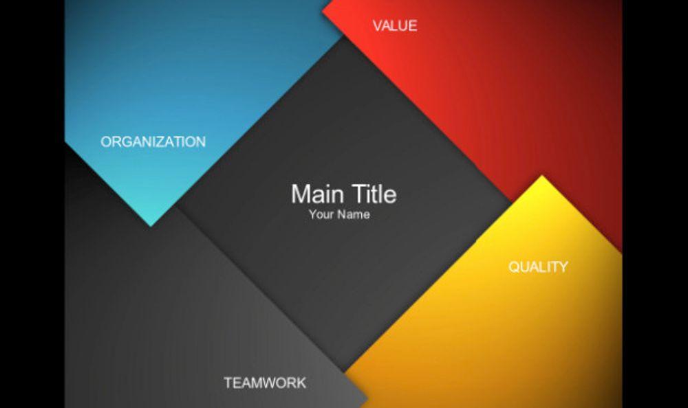 Presentation FX template example