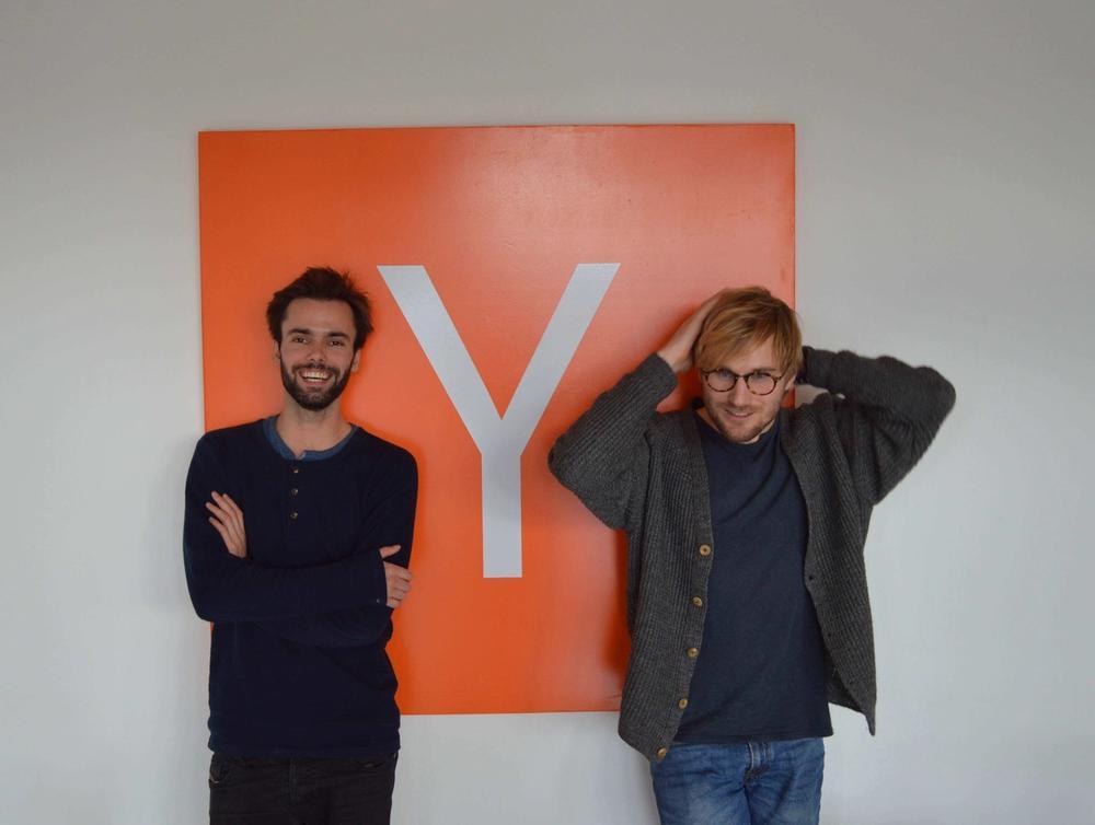 Founders Sondre Rasch (Left) and Fredrik Thomassen (Right)