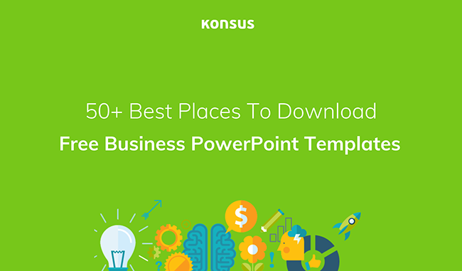 Free powerpoint templates 50 best sites to download konsus the 50 best places to download free powerpoint templates toneelgroepblik