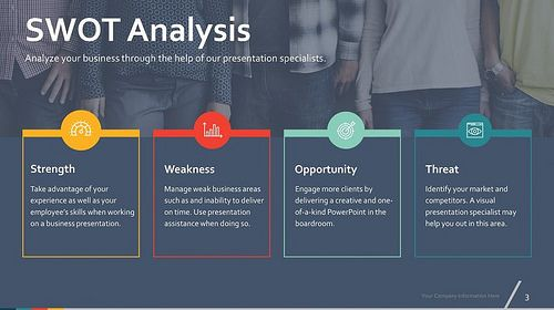 Free Swot Analysis Templates  Custom Designed By Konsus