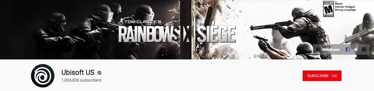 Ubisoft Youtube banner