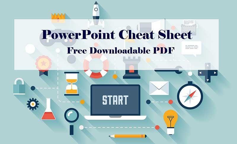 PowerPoint Cheatsheet - Download Free PDF