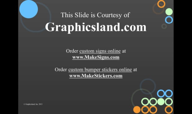 Graphics Land template example