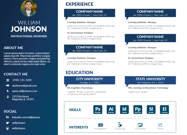 15  infographic resume ideas for serious business