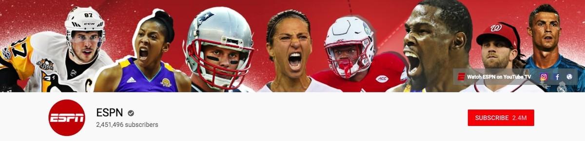ESPN Youtube banner