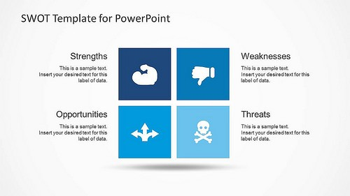 Preview of SlideModel SWOT Template