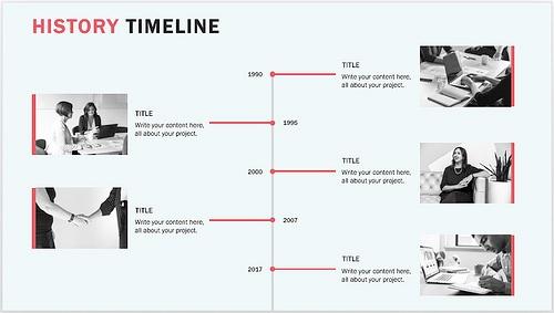 15+ Best Timeline Templates   Free   Editable   Custom Designs