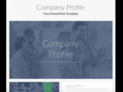 Free powerpoint templates 50 best sites to download graphic panda aggregates plenty of iconic powerpoint templates for your presentation needs these include the company profile template as well as others toneelgroepblik Image collections