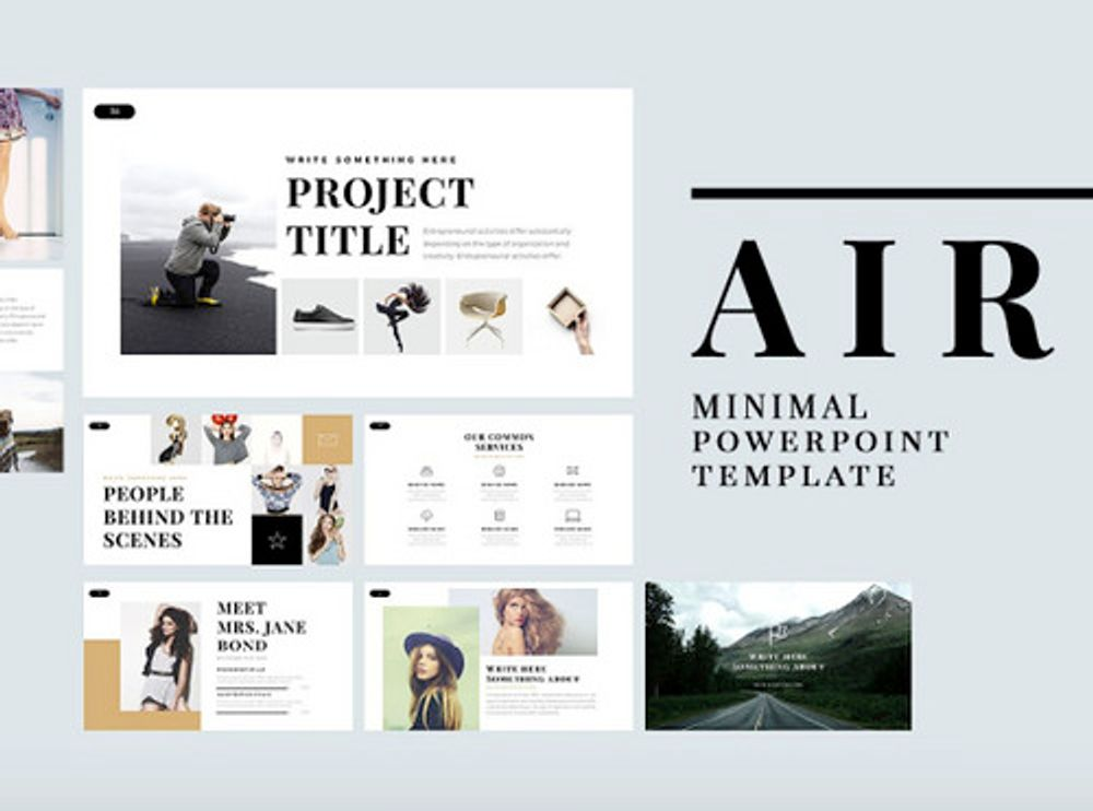 powerpoint template slide