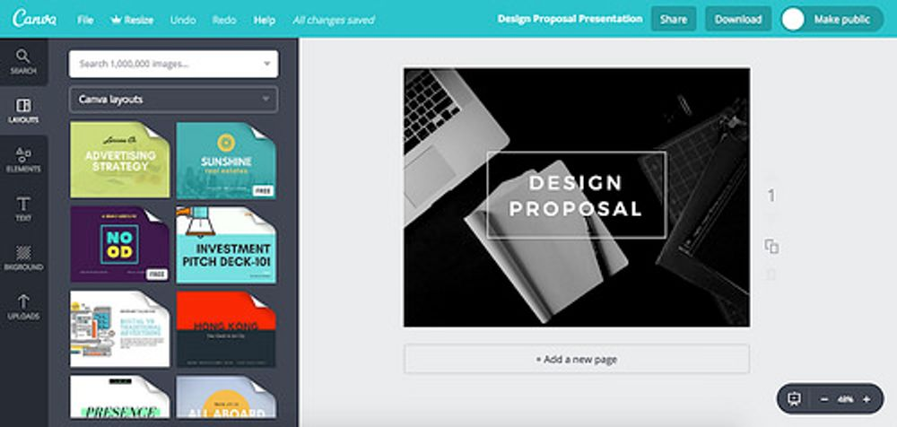 Preview of Canva