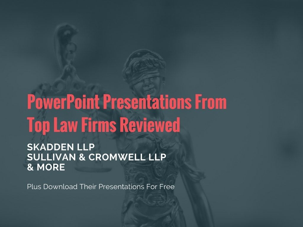 Powerpoints reviewed for top law firms download free legal templates powerpoint presentations from top law firms reviewed plus download their templates for free toneelgroepblik Image collections