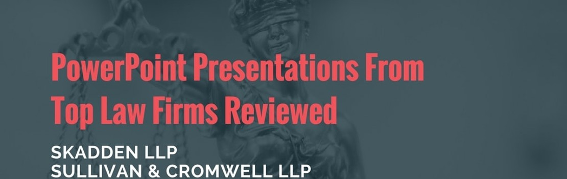 PowerPoints Reviewed For Top Law Firms | Download Free Legal
