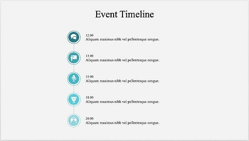 15 best timeline templates free editable custom designs this clear and intuitive event timeline template can efficiently be used for a wide array of events such as conferences meetings workshops etc toneelgroepblik Images