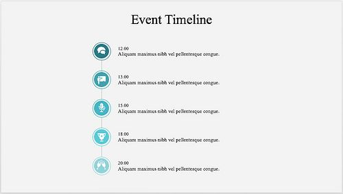 This Clear And Intuitive Event Timeline Template Can Efficiently Be Used  For A Wide Array Of Events, Such As Conferences, Meetings, Workshops, Etc.