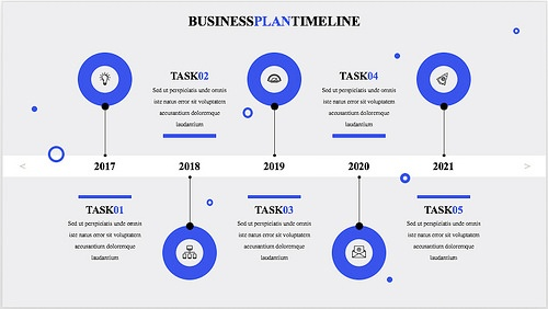 15 best timeline templates free editable custom designs konsus professional business plan timeline template our designers know how much professionalism and visual impact matter in the business context cheaphphosting Choice Image
