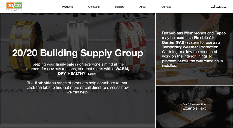20/20 Building Supply Group