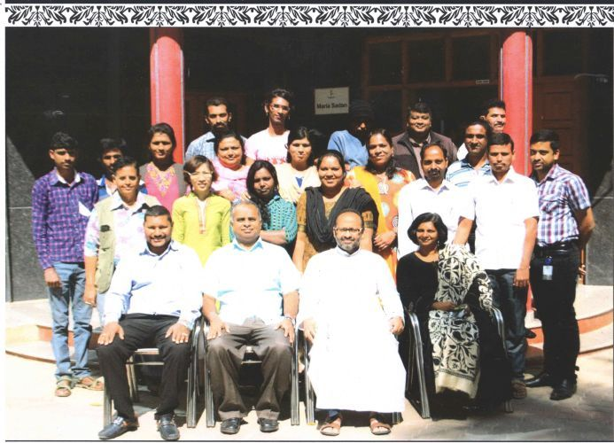 A group photo of Residential Training at Project Vayati