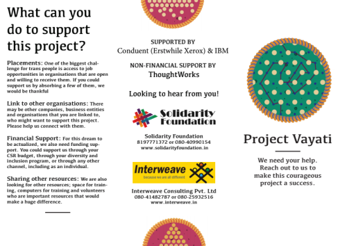 Image of brochure for Project Vayati
