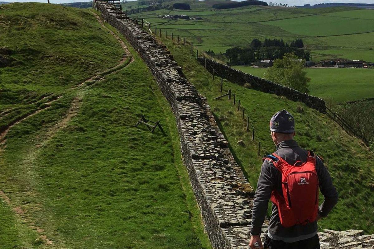 Walking Hadrian's Wall today