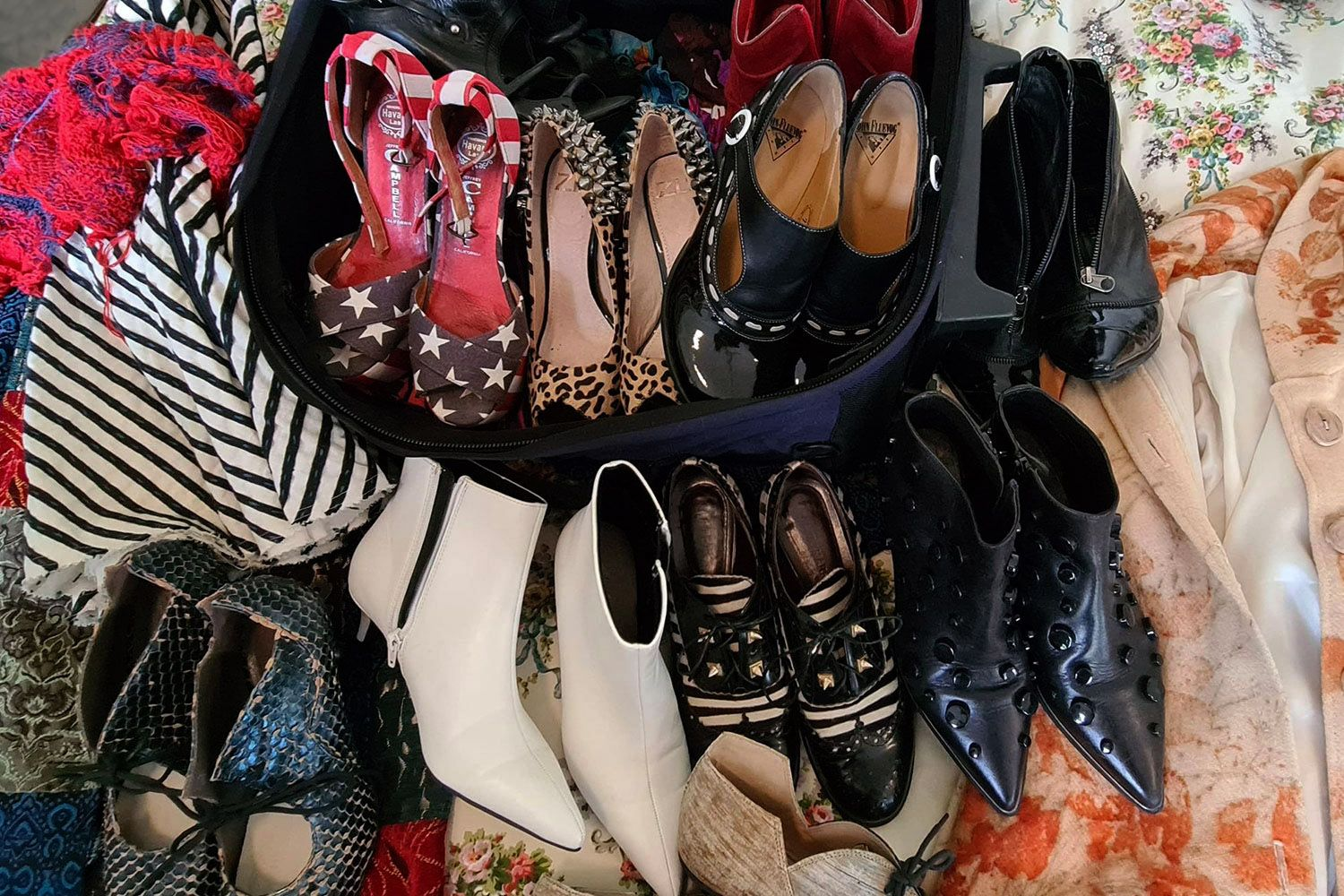 Packing Shoes for an Italian Holiday