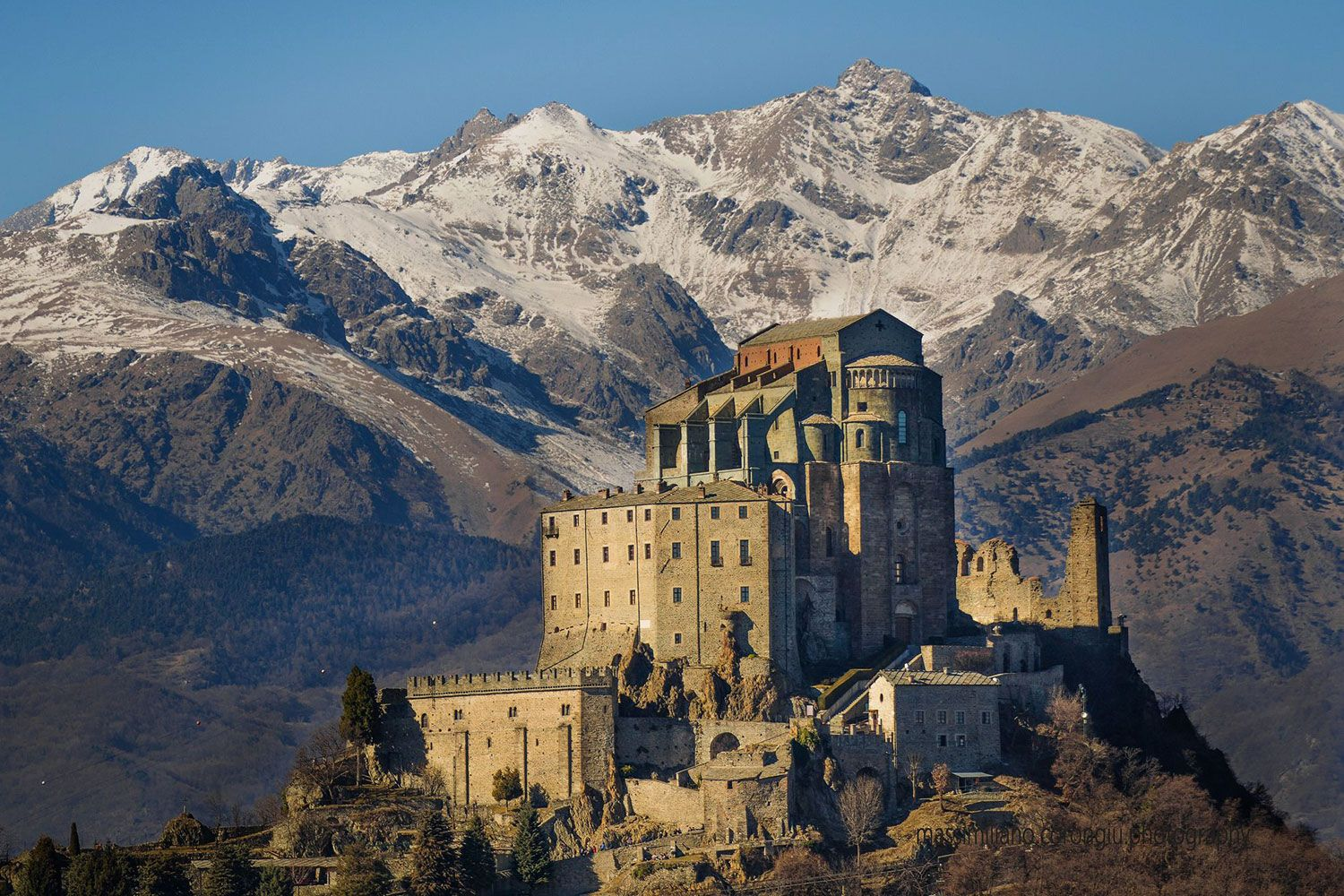 Saint Michael's Abbey in Piedmont has been defying the ravages of nature and man for more than 900 years.