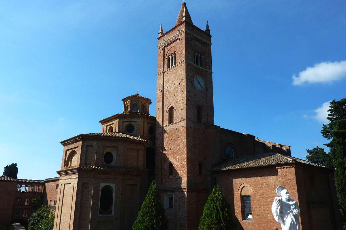 The 13th century Abbey of Monte Ovieto Maggiore
