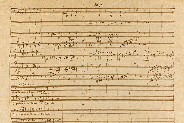 Even the divine Mozart owes a debt to Guido.