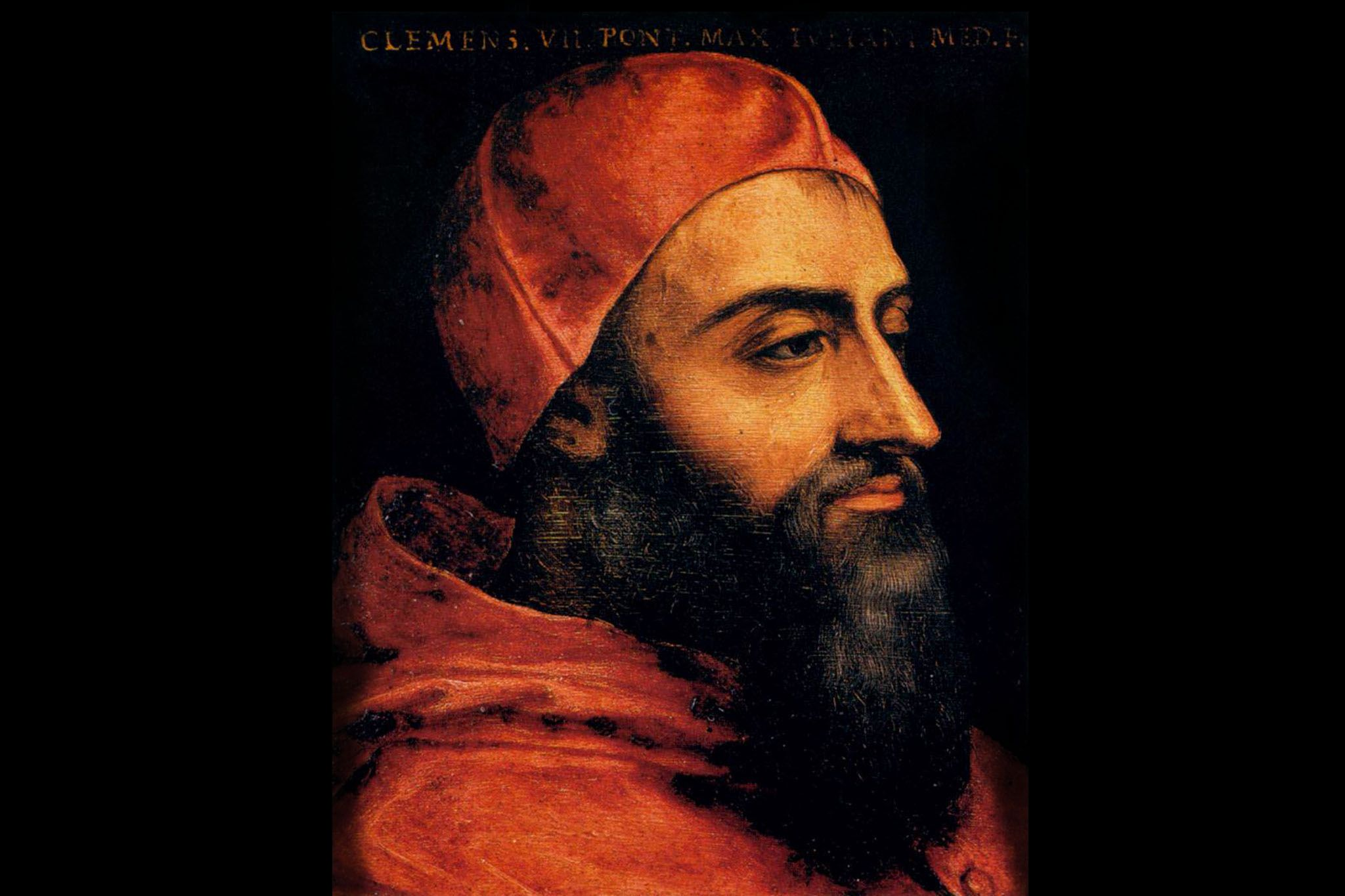Clement VII, christened Giulio de' Medici, was born May 26, 1478 in Florence and died in Rome, Sept. 25, 1534.