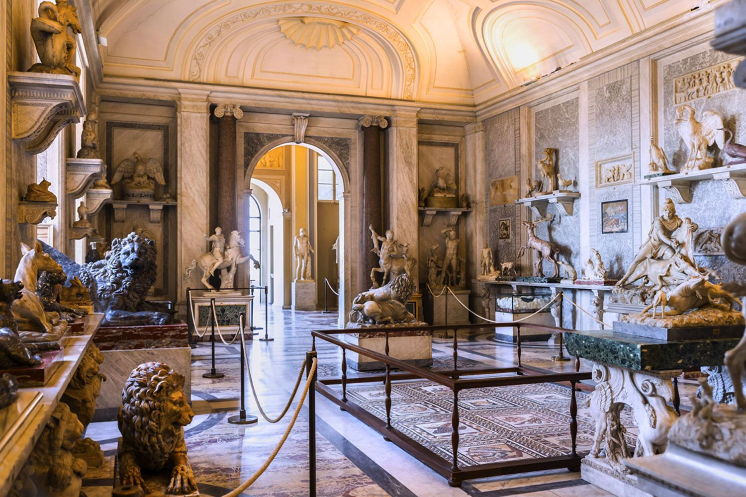 Hall of Animals in the Vatican Museums