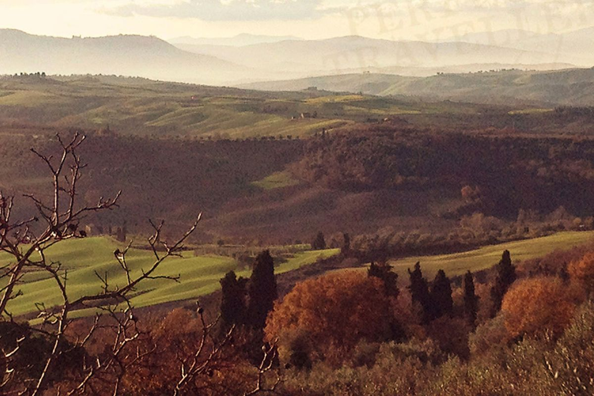 The Val d'Orcia is perfection married to ancient traditions.