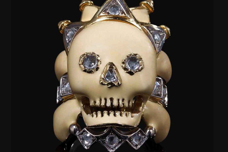 Attilio Codognato Skull Ring in Venice