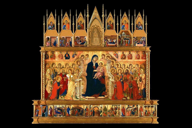 The Maestà by Duccio
