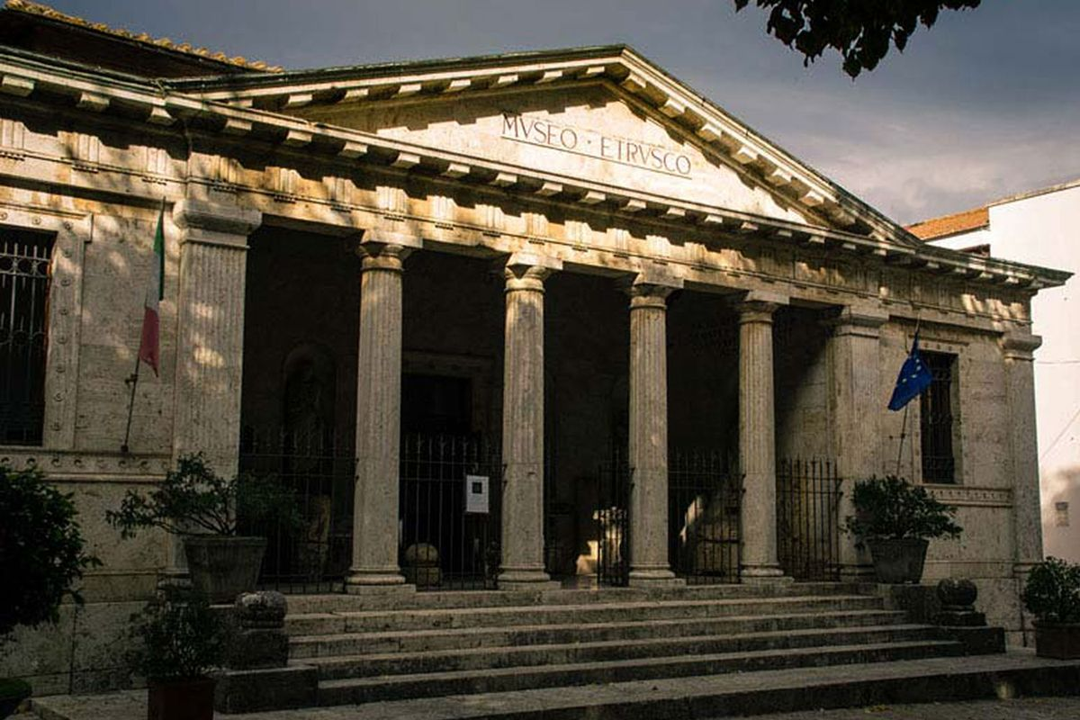 The Chiusi Archaeological Museum is a must see.