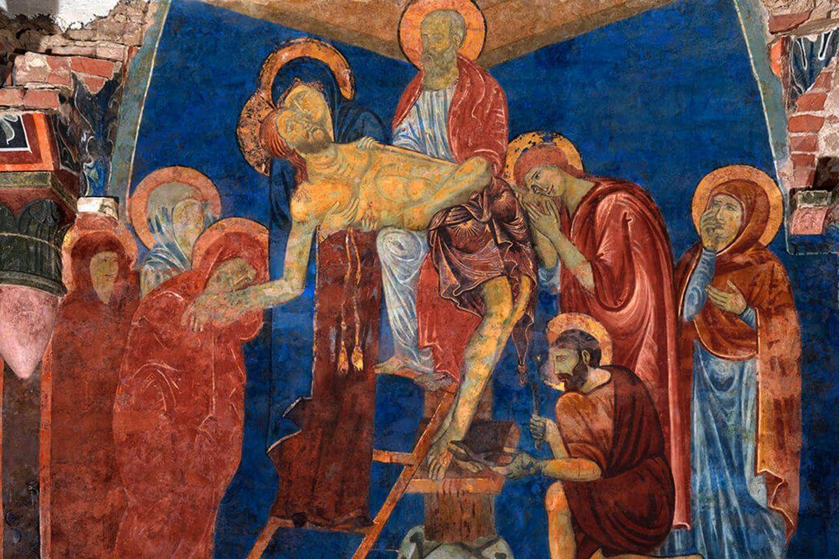 13th century Deposition