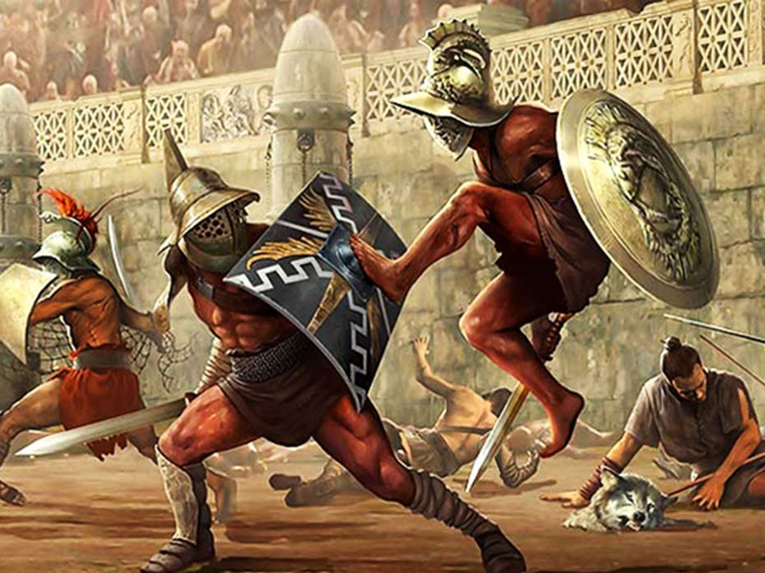 The Blood Lust of Rome